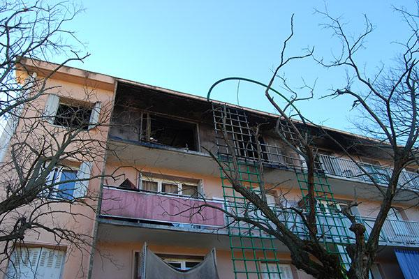 Investigation post incendie immeuble
