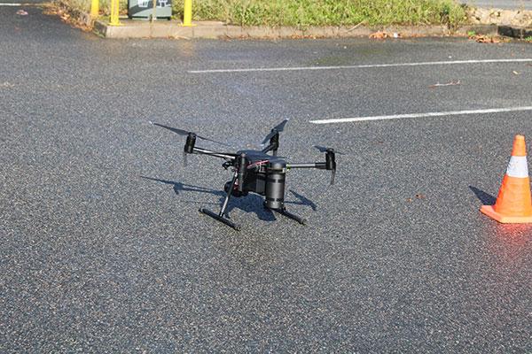 Investigation incendie par Drone