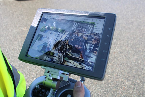 L'expertise incendie drone : Malys investigation