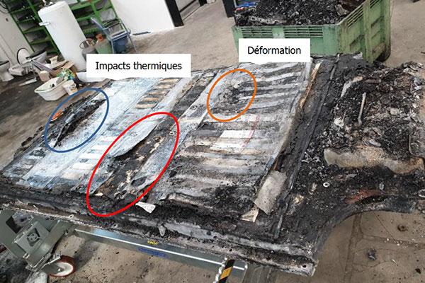 Malys enquête expert incendie véhicule électrique