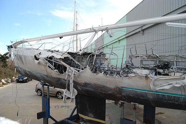 Malys recherche de causes et circonstances d'incendie de bateaux